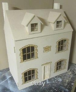 1/12 scale Dolls House Jessica's House 4 rooms kit by Dolls House Direct