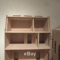 1/12 scale Dolls House The Knightsbridge 9 room House Kit by DHD