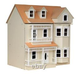 1/12th SCALE EXMOUTH VICTORIAN /EDWARDIAN STYLE DOLLS HOUSE KIT IN MDF/ WOOD