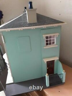 112th Dolls House Sid Cooke Coxwold Edwardian Shop Fully Lit 4 x Chandeliers+