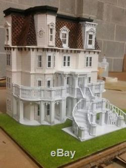 148 Scale Hegeler Carus Mansion Dollhouse Kit