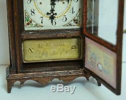 1979 Ron Terrill 112 Dollhouse Miniature Eli Terry Federal Mantle Clock #2/4