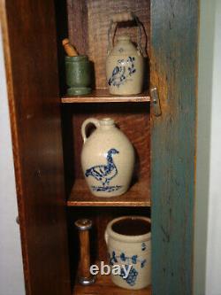 1984 Barbara Davis DH Mini Cupboard 5 pcs Jane Graber Joanna Scarboro