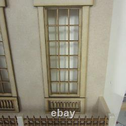 24th scale Dolls House The Knightsbridge 9 room Dolls House Kit by DHD