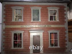 A Fine English Victorian Dolls House Circa 1860