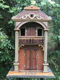 A Rare Gottschalk Model Toy/ Dolls House Circa Late 19th Century