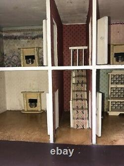 A Rare Original G&J Lines Bros Dolls House Circa 1915