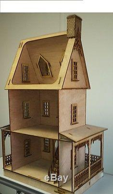 Abriana Large Country Cottage 112 Scale Dollhouse