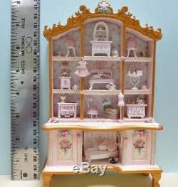 Adorable Pink Cabinet With 1120 Scale C. Rohal Furniture