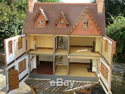 Albury House handmade collector's dollshouse