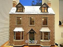 Anglesey Dolls House 1/12 Victorian First Edition Built By Maker Vintage