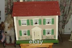Antique 1930's Schoenhut knockdown Doll House with original box