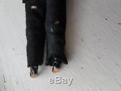 Antique Bisque 7 Man Dollhouse Doll with Mustache 317 German