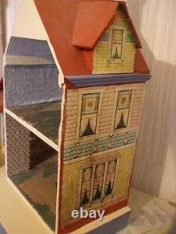 Antique Dolls house BLISS Rare Seaside Manor 1901 REDUCED TO LIST END ONLY