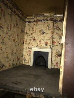 Antique Large Dolls House Circa 1850/60