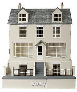 Antique Shop Dolls House & Basement 112 Scale Unpainted Collectable Kit