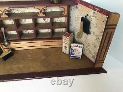 Antique Small German Dollhouse Store