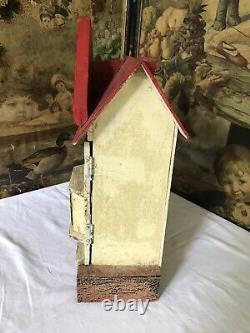 Antique Vintage Mini Dolls House For Further Restoration