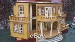 Antique dollhouse house