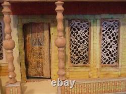 Antique dolls house early 1900s BLISS Seaside Manor