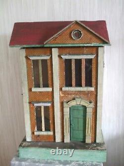 Antique dollshouse Gottschalk German 1890s house for tlc