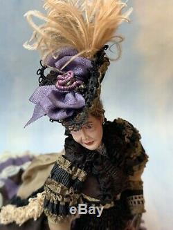 Artisan Miniature Dollhouse 1998 RARE Marcia Backstrom Doll A Victorian Madame