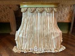 Artisan Miniature Dollhouse Vintage June Clinkscales Dream Day Bed Silks Wood UK