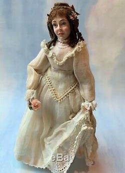 Artisan Miniature Dollhouse Vintage RARE Marcia Backstrom A Victorian Summer