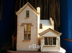 Arts & Crafts or Victorian Gothic Dolls House Elphin Dollhouse 12th Scale 1/12
