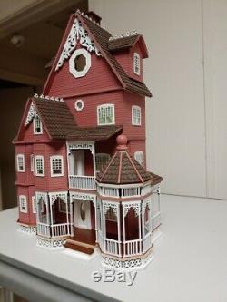 Ashley B milled siding Gothic Victorian Quarter Scale Dollhouse Kit 148