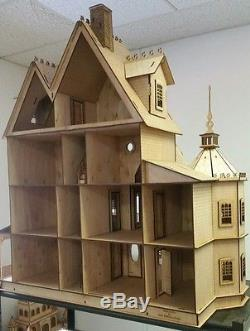 Ashley II Gothic Victorian Mansion Dollhouse Very Large Kit 112 scale
