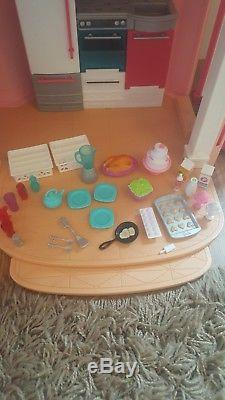 Barbie Dream House, car and original accessories. Immaculate condition