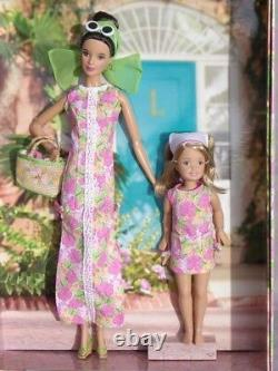 Barbie LILLY PULITZER & Stacie her daughter collector 2005 Mattel H0187 poupée