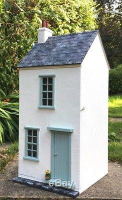 Beautiful 1/12th Scale Hand Made Unique Dolls House'Castaway Cottage