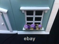 Beautiful 4storey Georgian Wooden Dolls House Complete With Furniture