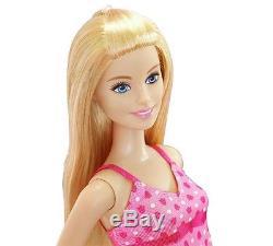 Beautiful Barbie Home Set Includes 3Dolls, Starter House, Pool & Furniture