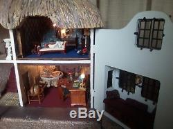 Beautiful Vintage Dolls House