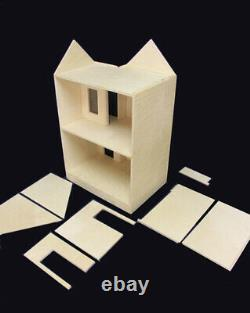 Belmont 1 Inch Scale Dollhouse Kit By Majestic Mansions