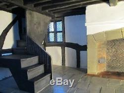 Bespoke 1/12th scale Tudor House, Collectors Dolls House