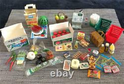 Bulk Re-Ment refrigerator kitchen board, highclass ingredients Dollhouse 16