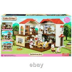 Calico Critters Red Roof Country Home Kids Toddler Toy Gift Plastic Play House