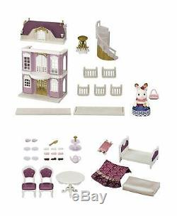Calico Critters Set Elegant Town Manor Gift Kids Toy Play Epoch CC3042 NEW