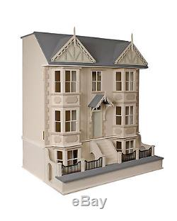 Cedars Dolls House & Basement 112 Scale Unpainted Collectable Kits