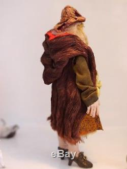 D/house Miniature Gorgeous Grumpy Witch 1/12th Scale Sally Brennan