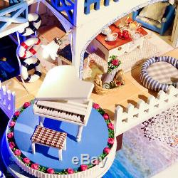 DIY Handcraft Miniature Dolls House My Seaside Villa In Casablanca Morocco