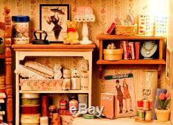 DIY Handcraft Miniature Dolls House The 19th Century Savile Row Sewing Shop