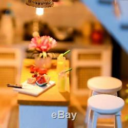 DIY Handcraft Miniature Project Dolls House The Apartment Of Elegance Xmas Gift