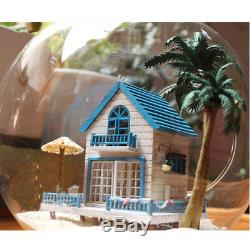DIY Handcraft Miniature Project Kit Dolls House The Aegean Sea Beach House