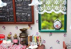 DIY Handcraft Miniature Project Kit The Star Coffee Bar Music Wooden Dolls House