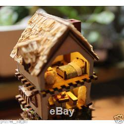 DIY Handcraft Miniature Project Wooden Dolls House Kit Islands Forest Adventure